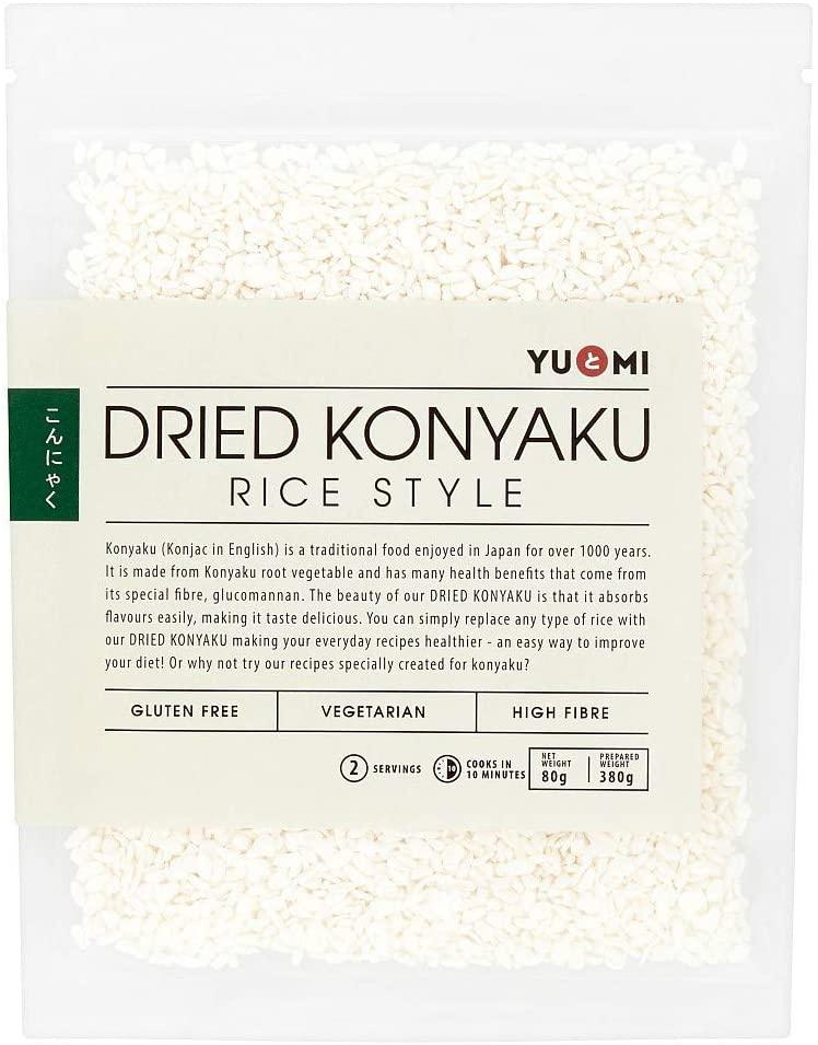 Yu&Mi Dried Konyaku Rice Style 80g (prepared weight 380g) Price in Pakistan