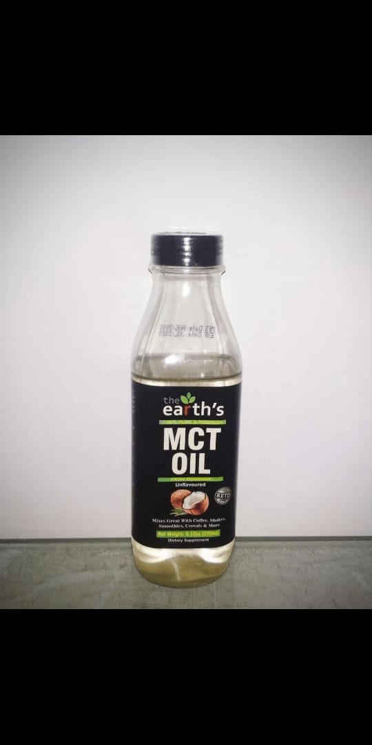 The Earth MCT OIL 270ML Price in Pakistan