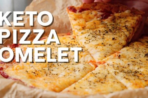 Keto Pizza Omelette