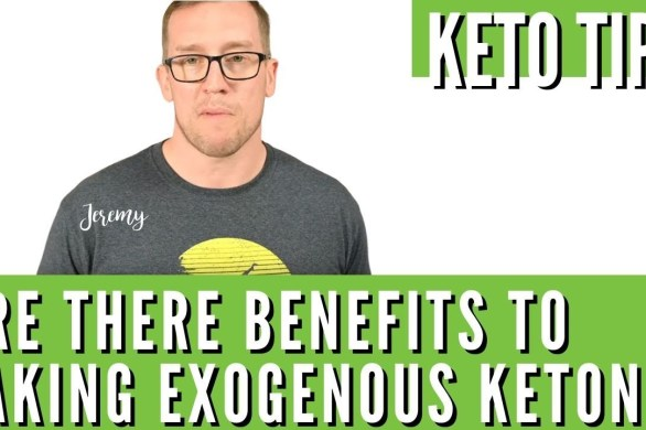 Are There Benefits To Taking Exogenous Ketones On The Keto Diet?