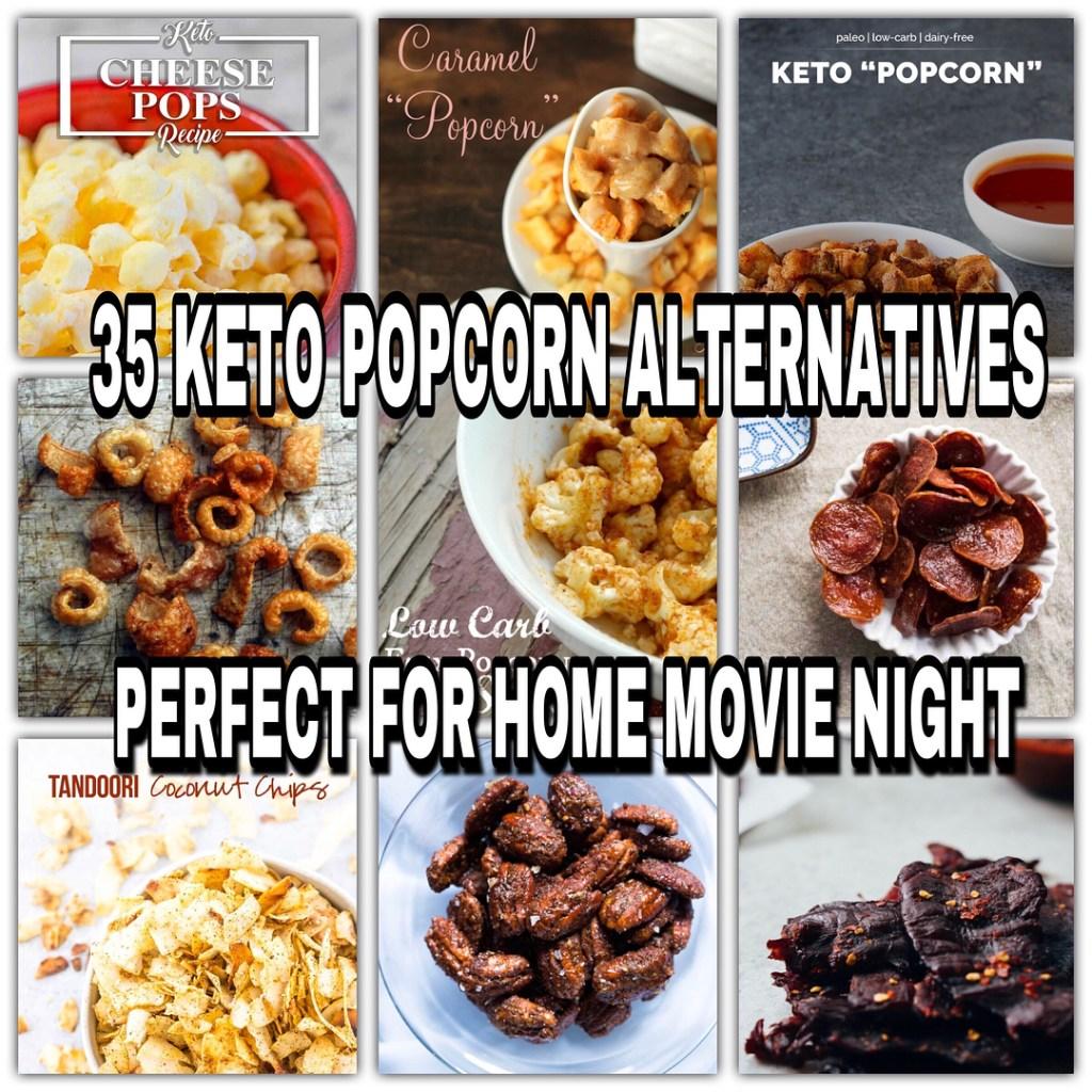 35 Keto Popcorn Alternatives Perfect for Movie Night