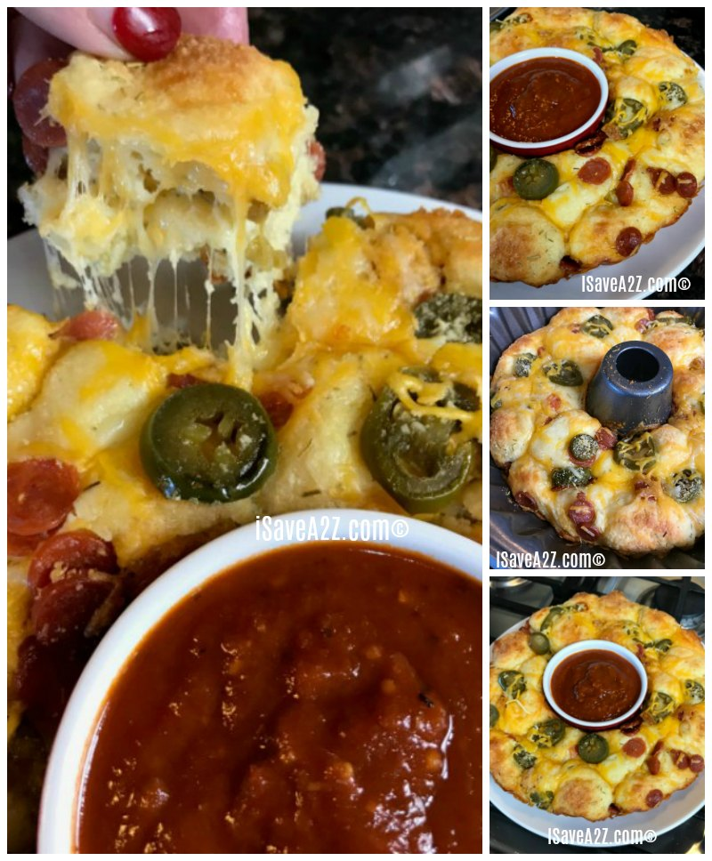 Keto Pull Apart Pizza Bread Recipe