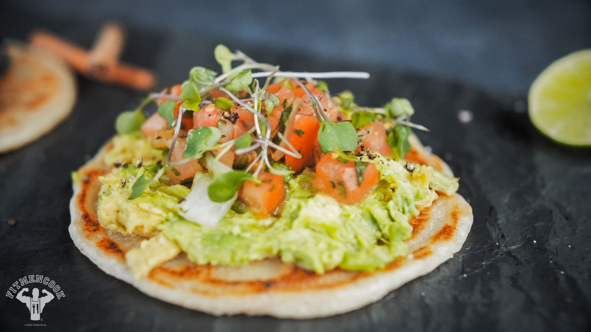 keto-friendly flatbread