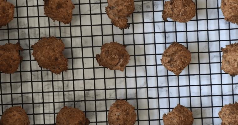 Keto Chocolate Peanut Butter Breakfast Cookies | Vegan Keto | Fat Bomb