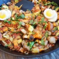 Eggplant Breakfast Hash