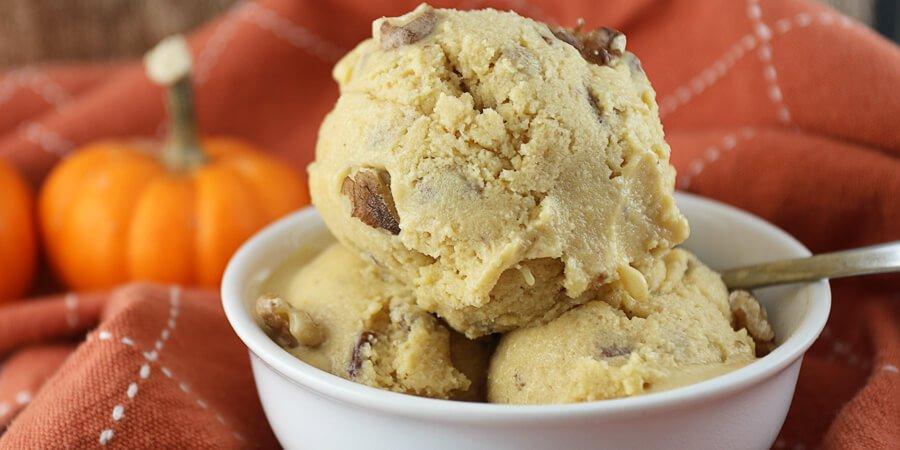 Pumpkin Keto Ice Cream