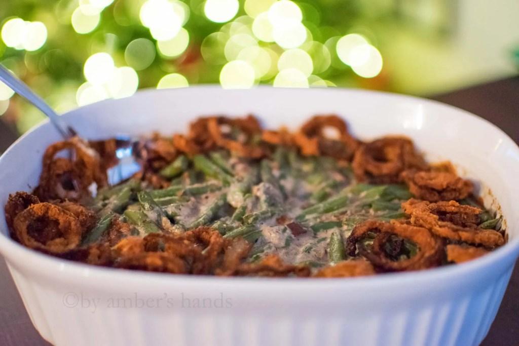 Low Carb Green Bean Casserole -keto cake walk-
