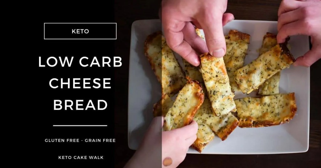 Low Carb Cheese Bread -keto cake walk-