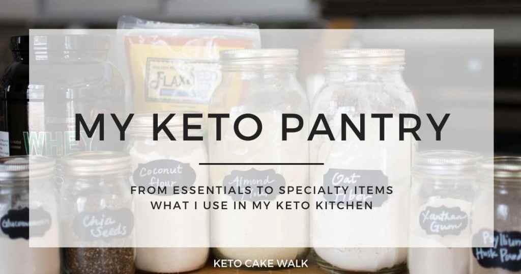 My Keto Pantry -keto cake walk-