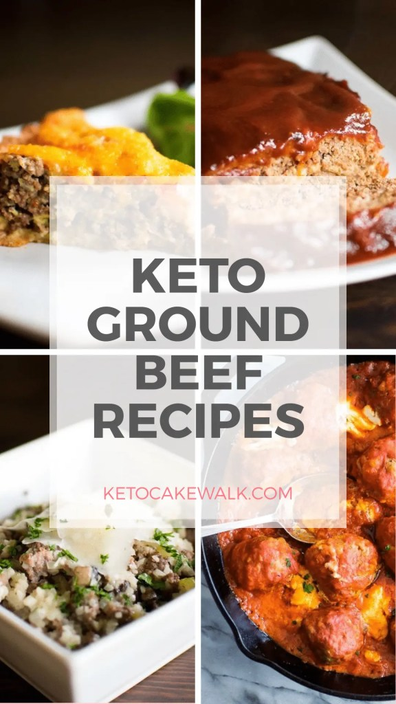 Ground beef is super versatile and inexpensive. Check out this huge list of amazing keto ground beef recipes and plan your menu right away! #keto #lowcarb #groundbeef #beef #dinner #easy #cheap #inexpensive #glutenfree #grainfree