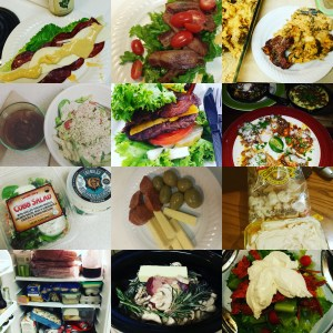October Food Collage