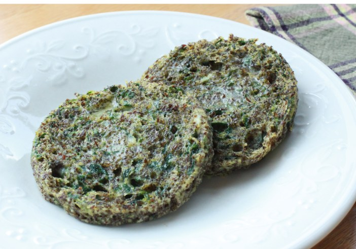 Spinach & Flax Micro Muffin