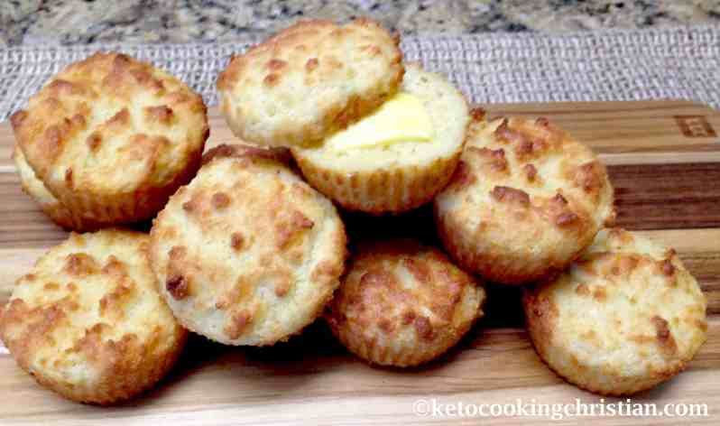 Drop Biscuits - Keto, Low Carb & Gluten Free