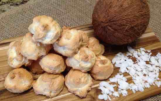 keto low carb coconut meringue cookies