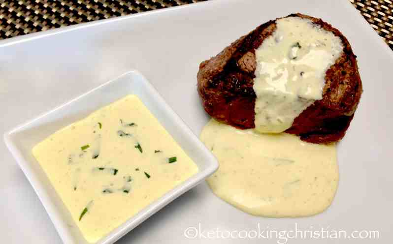Béarnaise Sauce... with a Twist - Keto and Low Carb