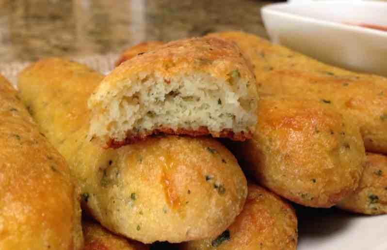 keto Italian breadsticks