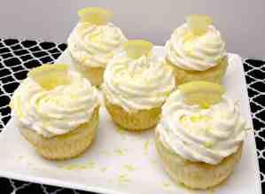 Lemon Cupcakes with Creamy Lemon Frosting - Keto, Low Carb & Gluten Free