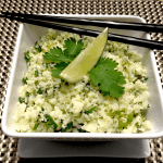 lime cilantro cauliflower rice keto and low carb