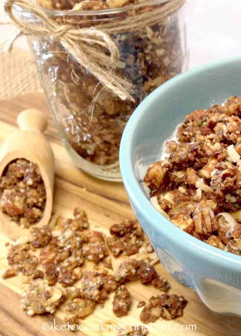 Coconut Granola - Keto, Low Carb & Gluten Free