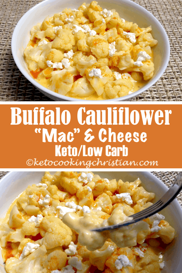 Buffalo Cauliflower Quot Mac Quot And Cheese Keto And Low Carb