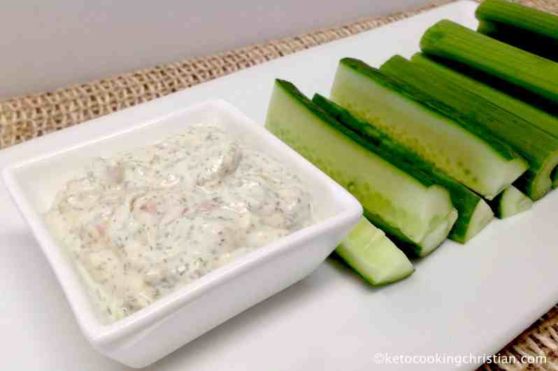 Bacon Ranch Dressing & Dip - Keto and Low Carb