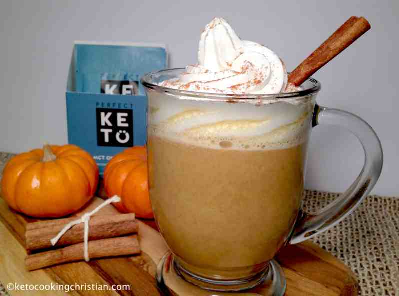Pumpkin Spice Bullet Proof Coffee - Keto and Low Carb