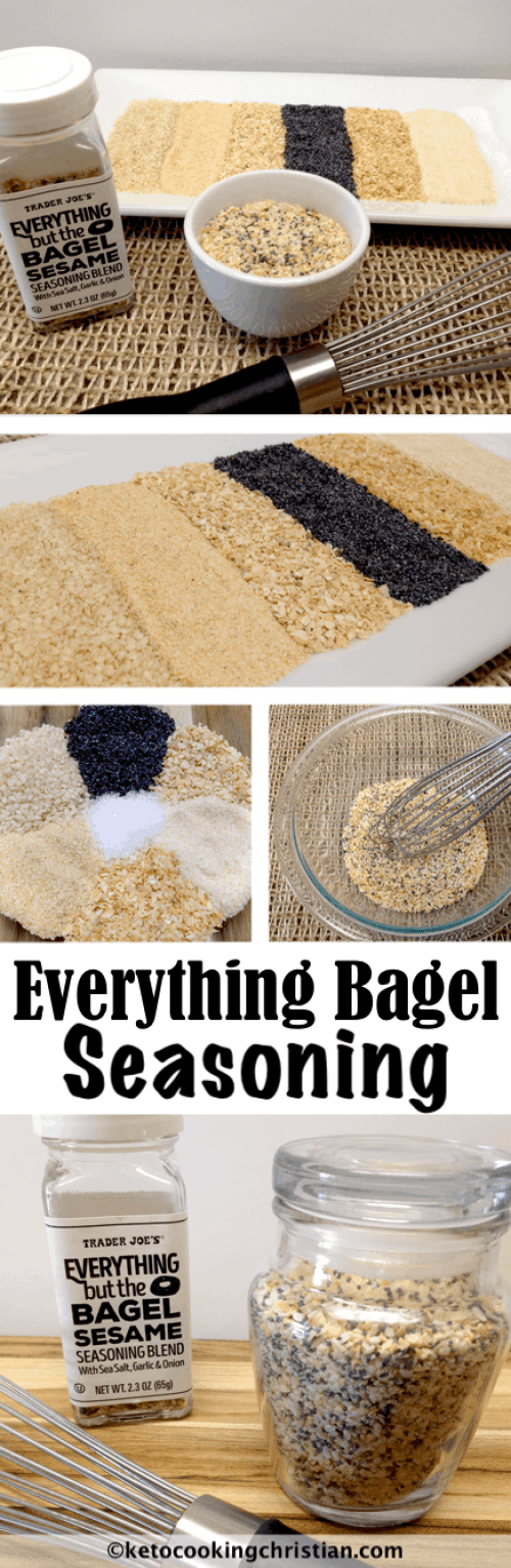 Homemade Everything Bagel Seasoning - Keto and Low Carb
