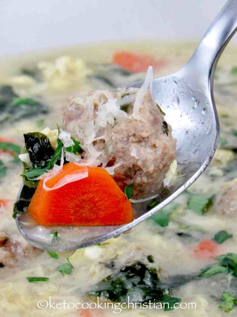 Italian Wedding Soup - Keto and Low Carb