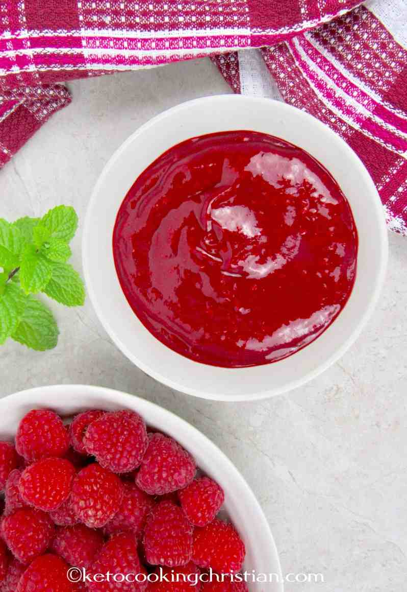 Raspberry Sauce - Keto and Low Carb