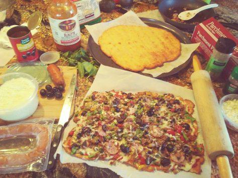 Fathead Dough Keto Pizza