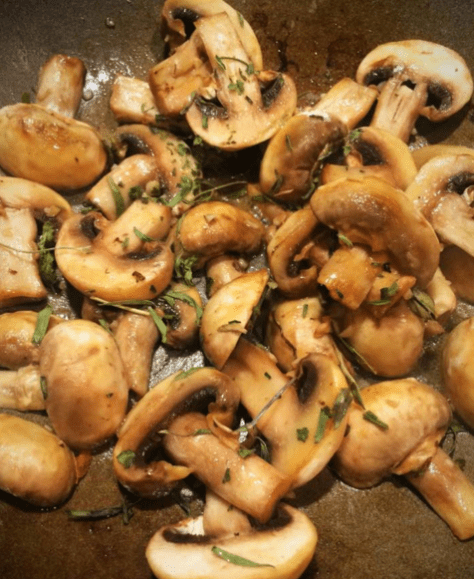Mushrooms for Keto Tarragon Quiche