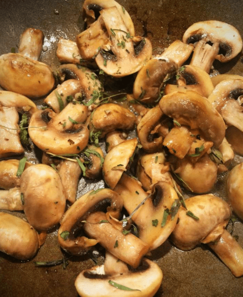 Mushrooms for Keto Tarragon Quiche