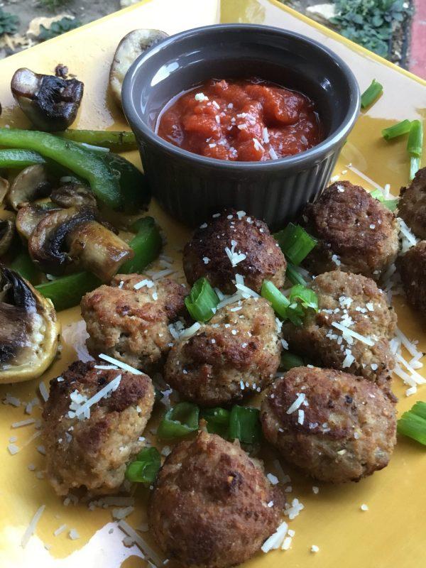 Keto Turkey Meatballs with Rao's Marinara