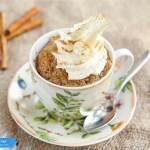Cinnamon Keto Mug Cake Ketodiet Blog