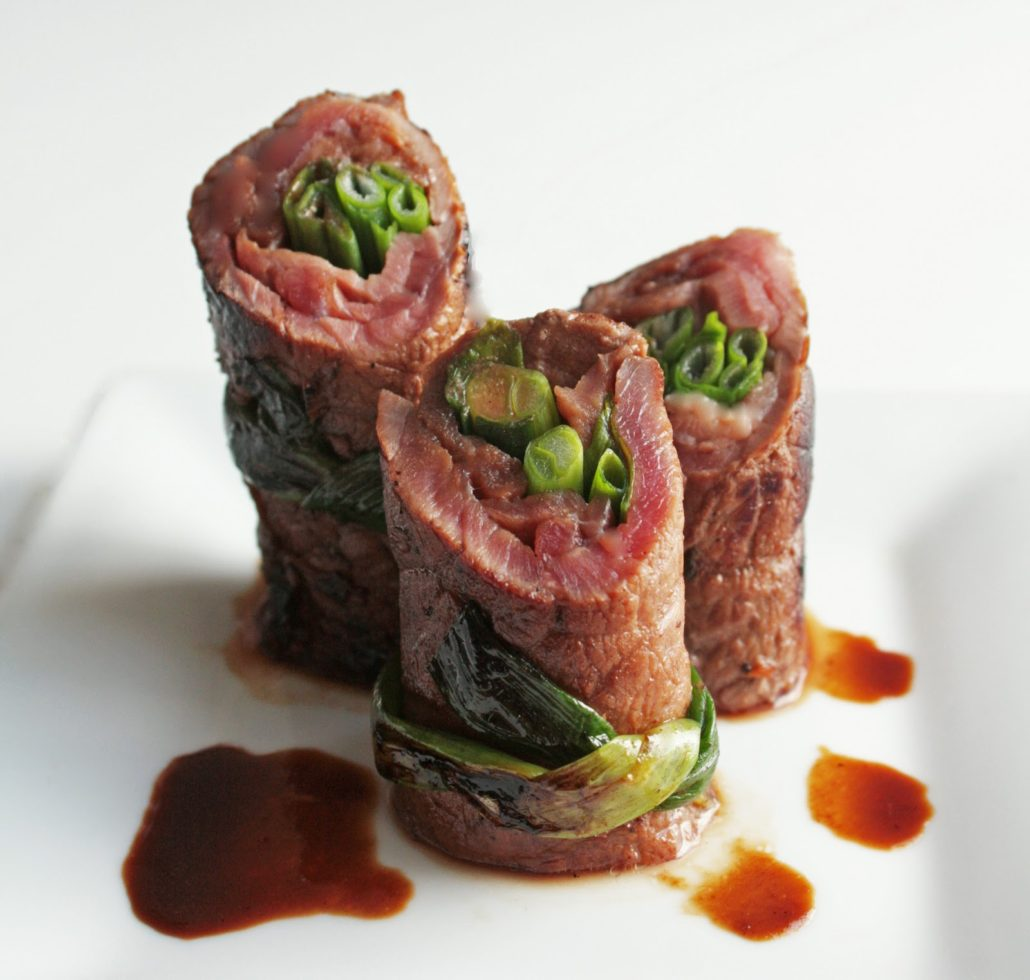 The perfect low carb appetizer – Beef Negimaki