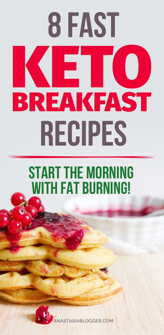 8 EASY KETO BREAKFAST RECIPES ON THE GO – FAT BURNING FROM THE MORNING!