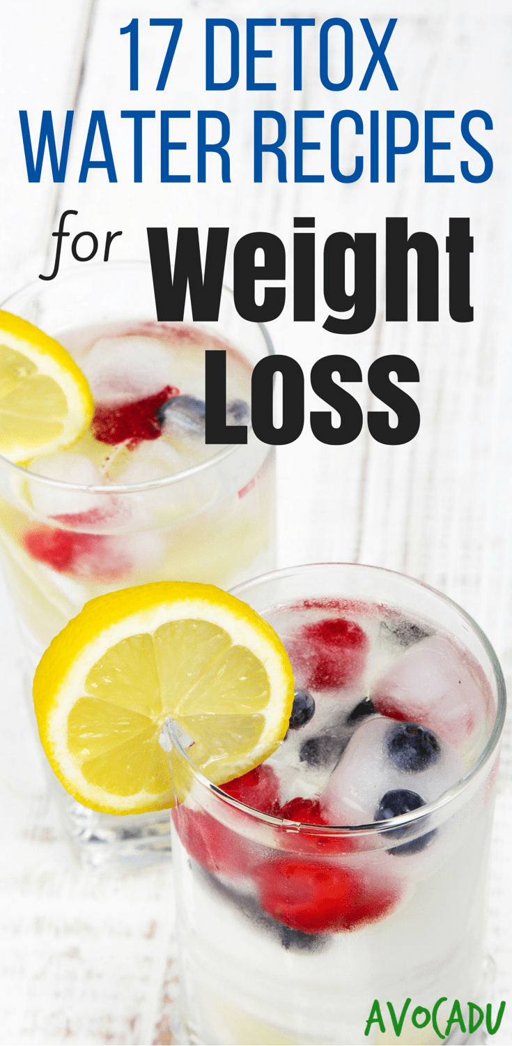 These 17 Most Amazing Detox Water Recipes Will Help You to Lose Your Weight