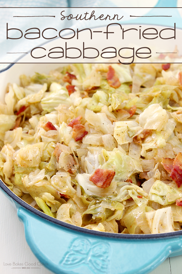 Keto SOUTHERN BACON-FRIED CABBAGE
