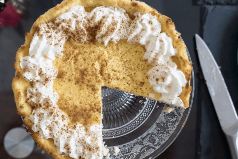 Keto Banana Cream Pie