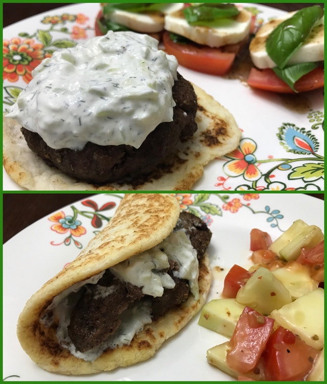 Keto Gyros Two Ways