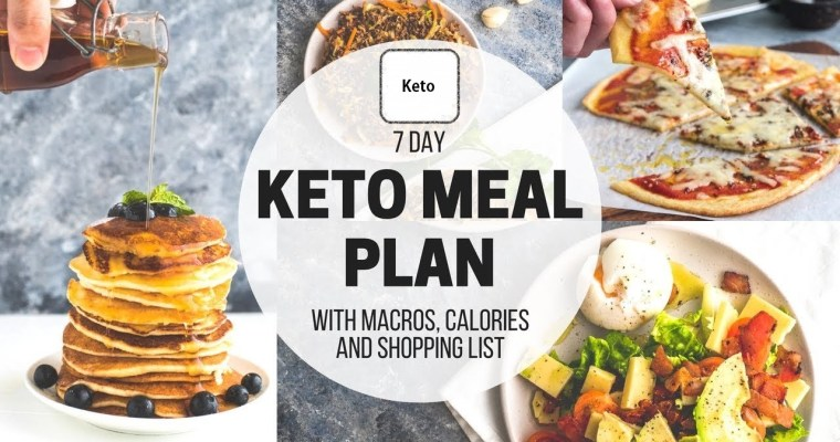 The ( + A Beginner's Guide ) KETO DIET PLAN FOR BEGINNERS