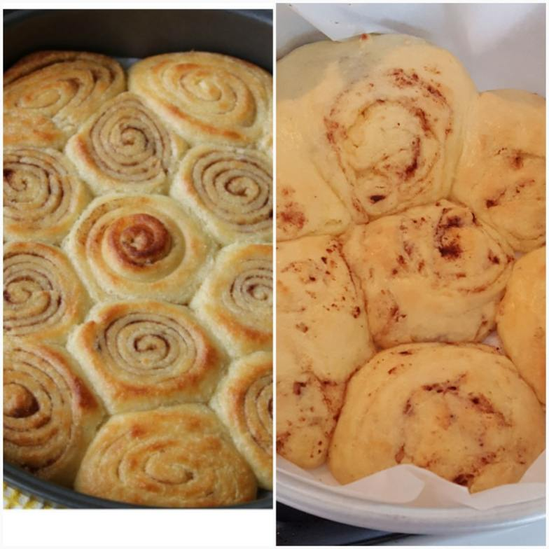 Tried to make keto cinnamon rolls... Nailed it?! Recipe in comments.