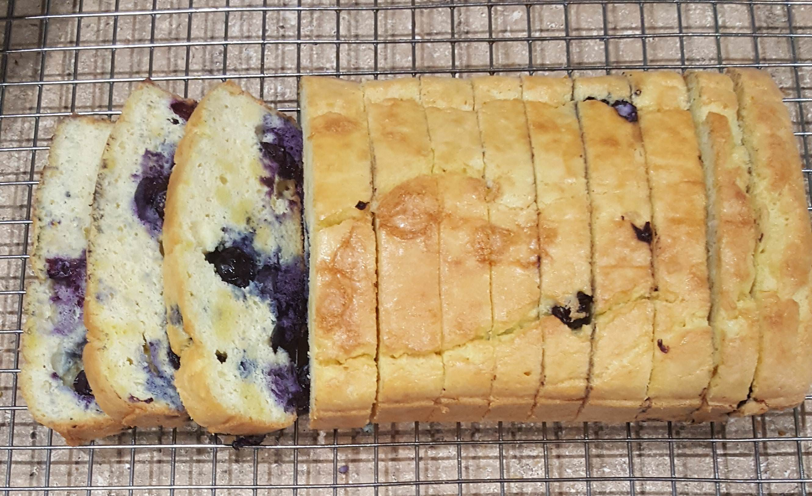 Blueberry Bread 1.1g Net Carb