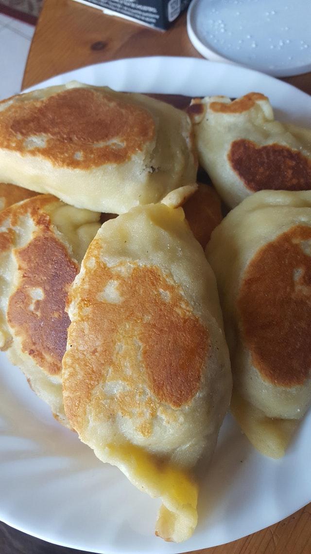 Keto version of Polish Meat Pierogi