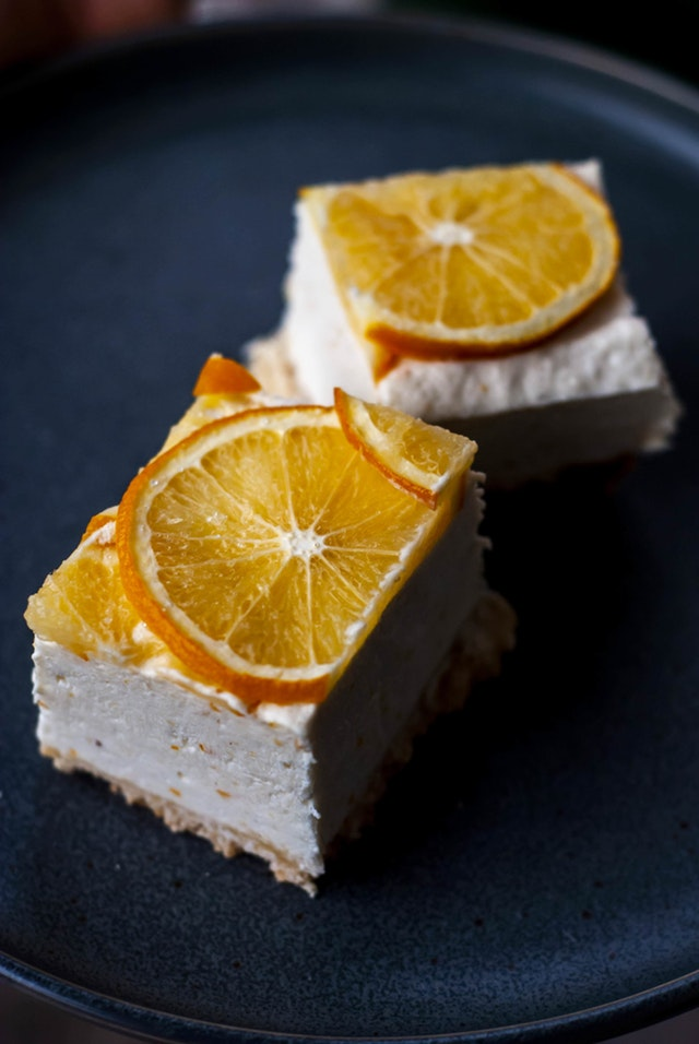 Keto Meyer Lemon Cheesecake