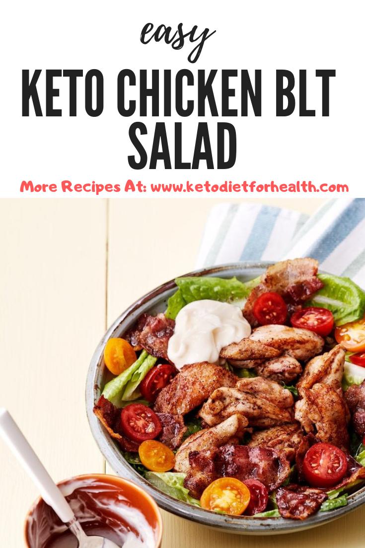 Keto Chicken BLT Salad