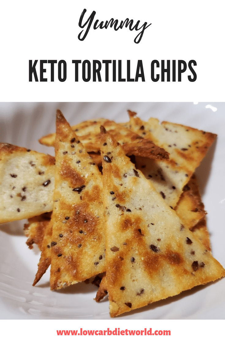 KETO TORTILLA CHIPS