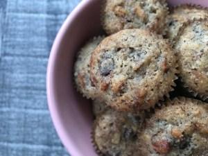 Keto Chocolate Pecan Pie Muffins