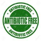 antibiotic free label