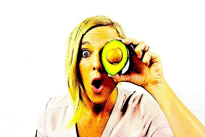 Avocado eyeball